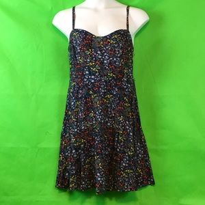 OLD NAVY SPAGHETTI STRAP FLORAL DRESS XL